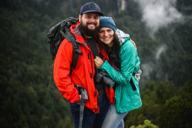 Couples who hike