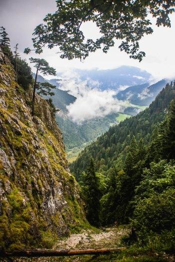 Hiking Kofel mountain